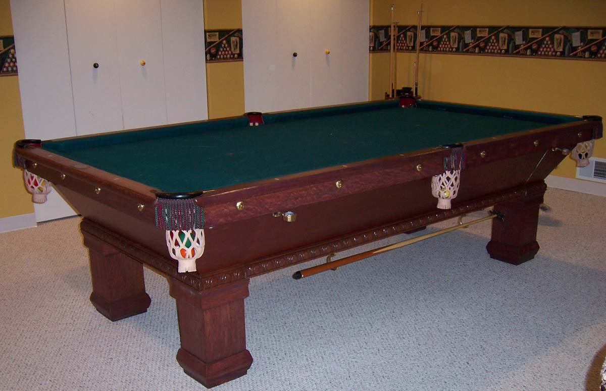 Rosatto Barry Street Co Pool Table - Brunswick monarch pool table