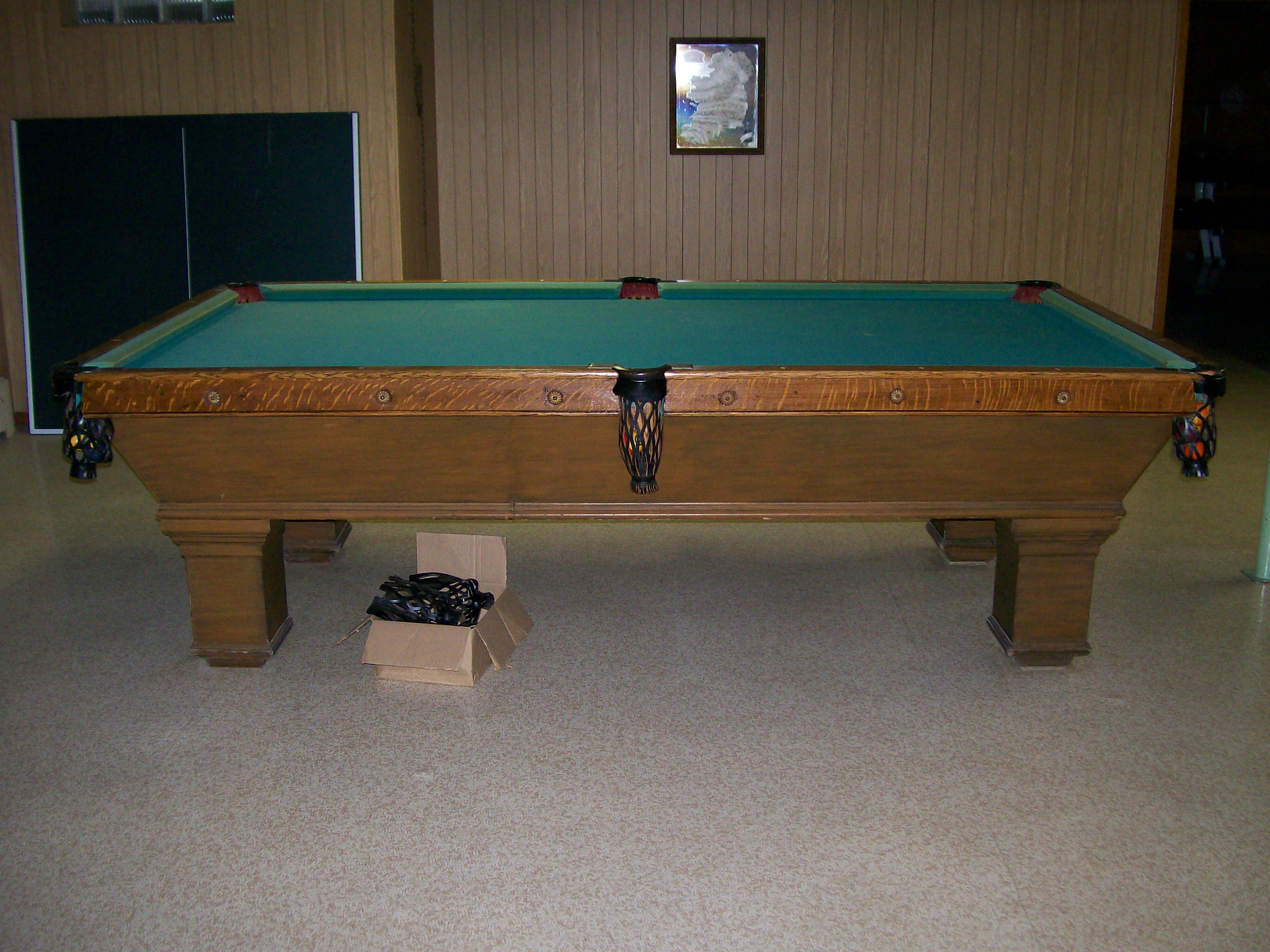 Identity Of Table - Brunswick monarch pool table