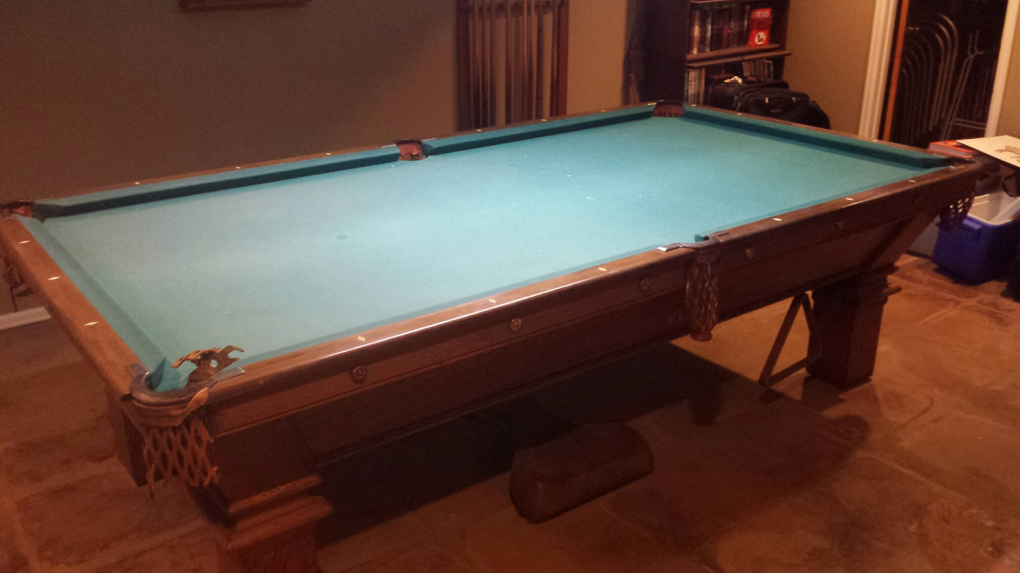 Anybody Know This Pool Table - Pool table hall near me
