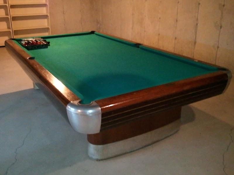 Brunswick Balke Collender Anniversary Snooker Table Value - Brunswick anniversary pool table for sale