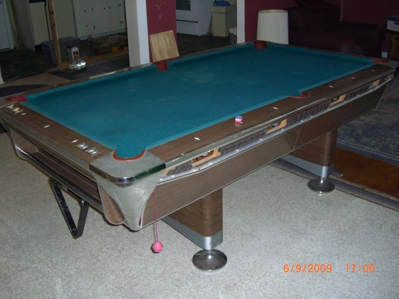Fischer Duchess Pool Table - Honeycomb pool table