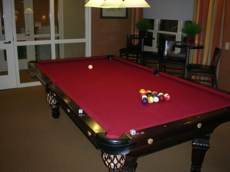 Billiard Table In An Apartment