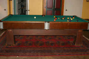 Can You Identify This Pool Table - Regent pool table