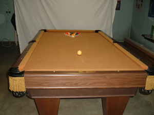 Brunswick Monarch Pool Table - Monarch pool table