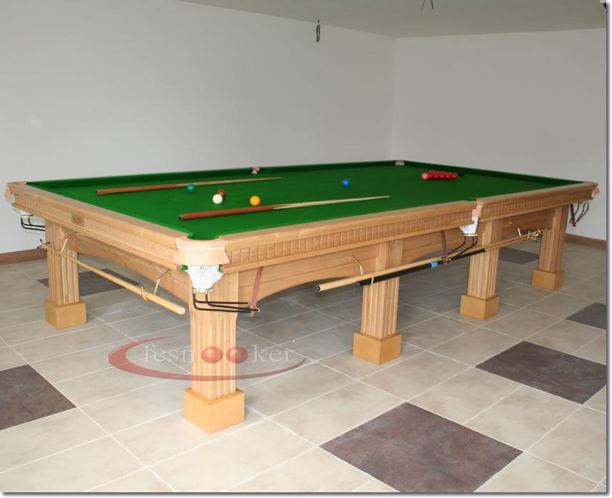 how to take apart a slate pool table