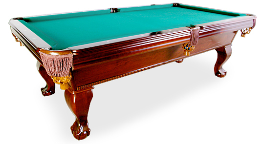 Highline Billiards Presidential Eagleclaw Pool Table For Sale - Claw foot pool table