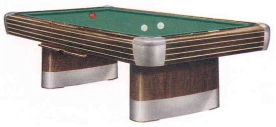 Value Of A Brunswick Official Size Slate Pool Table - Brunswick anniversary pool table for sale
