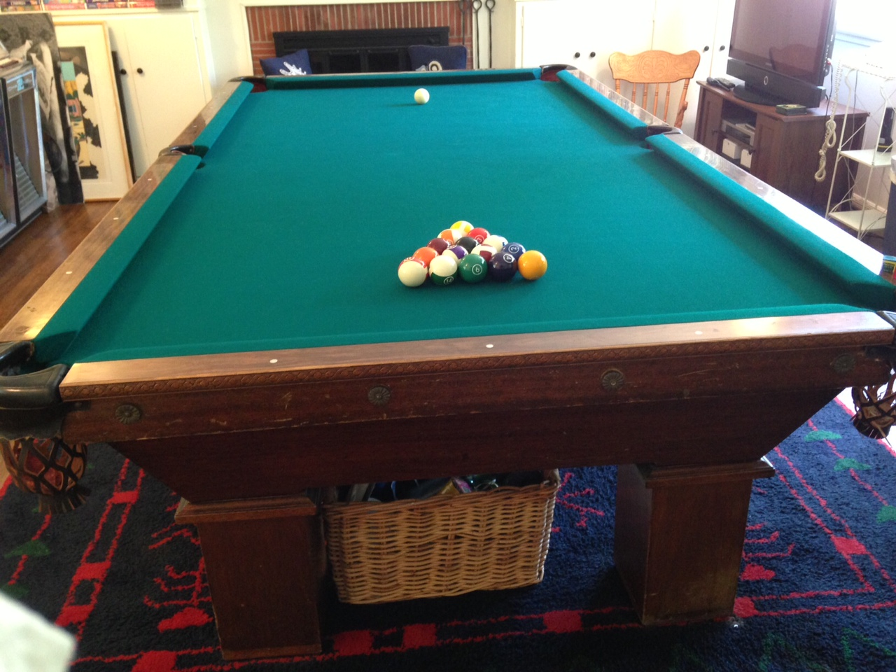 Brunswick Wellington Pool Table For Sale