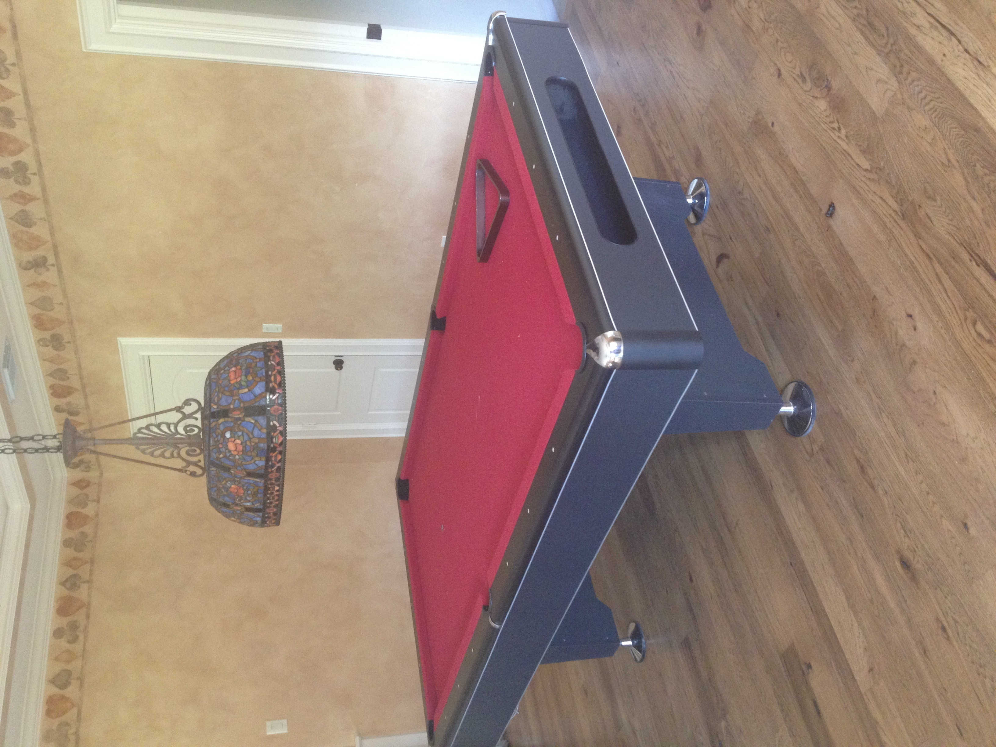 Need Help What Kind Of Pool Table Is This - Eliminator pool table