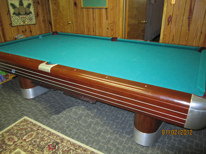 Foot Brunswick Anniversary Pool Table For Sale - Brunswick 9 foot pool table
