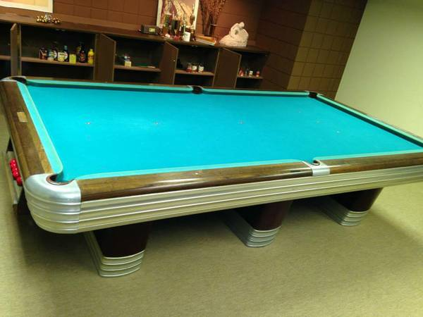 Any info on this 10 39 centennial snooker table for 10 x 5 snooker table