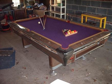 Fischer Empire VIII Pool Table Value - Fischer pool table