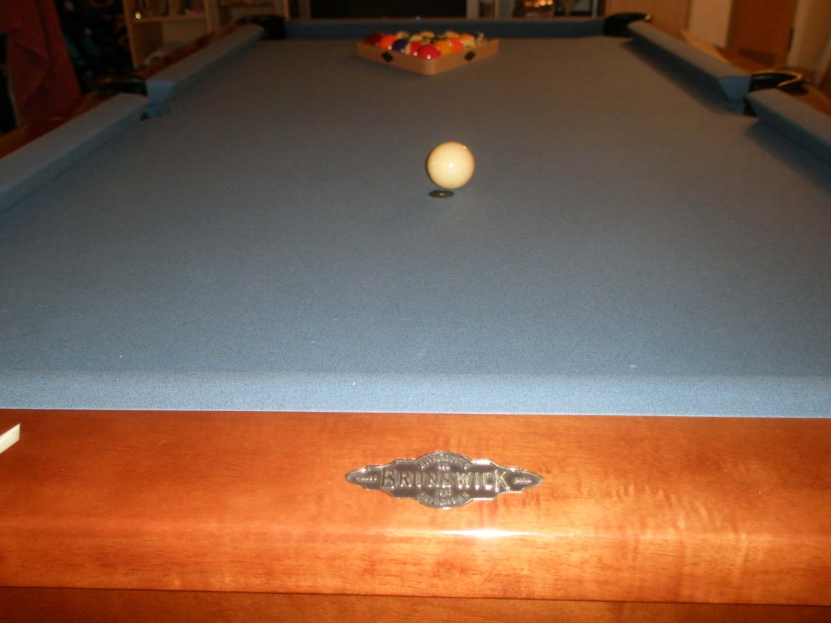 Brunswick Foot Pool Table With Accessories - Brunswick 7 foot pool table