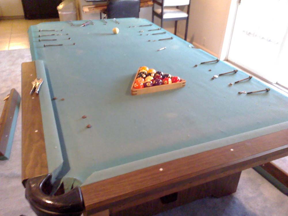Assembling My New Pool Table - Pool table assembly near me