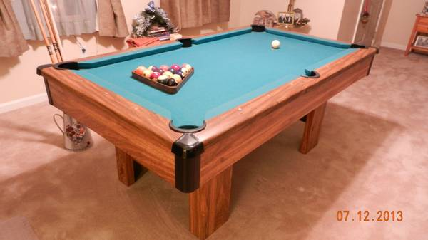 Ft Table Is This One Good - 6 ft brunswick pool table