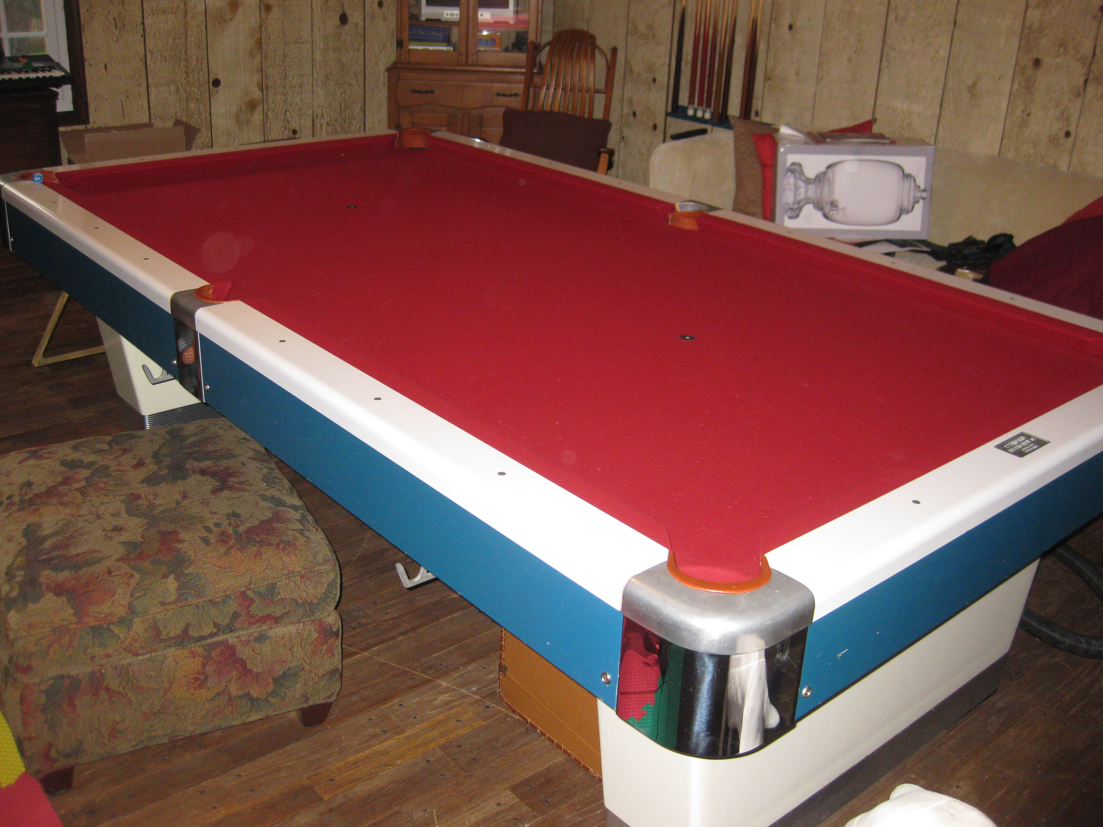 Help To Identify My Billiard Table - How much is my pool table worth